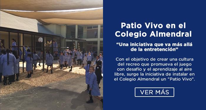 Patio Vivo en el Colegio Almendral