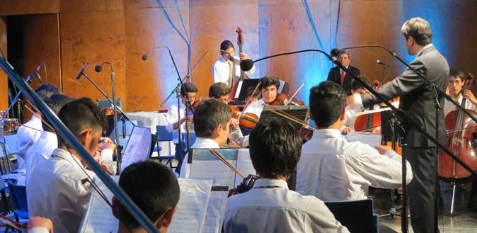 Revista del Grupo Educar destaca el trabajo de la Orquesta del colegio Nocedal
