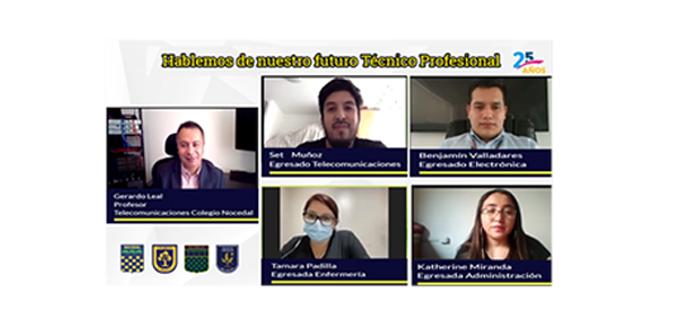 """Gran asistencia en Conversatorio """"Hablemos de Nuestro Futuro Técnico Profesional"""""""