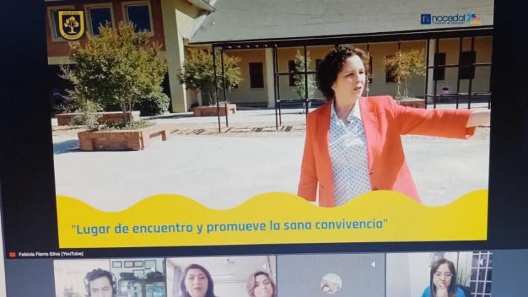 """Colegio Almendral comparte su experiencia frente a 13 países latinoamericanos en Congreso """"Ateneo Vess 2020"""""""