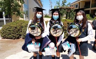 Con grandes sueños y esperanzas egresaron los alumnos de IV medio de los colegios de Fundación Nocedal