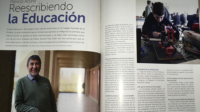 Patricio Acuña: Reescribiendo la educación