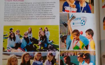 Copa Nocedal buscó reunir fondos para la construcción del colegio femenino
