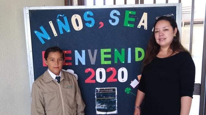 Inicio de clases alumnos nuevos PuenteMaipo y Trigales