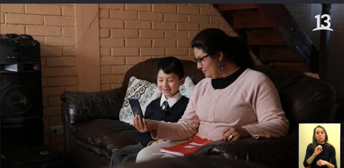 Reportaje en Teletrece: claves para evitar la deserción escolar en el colegio PuenteMaipo